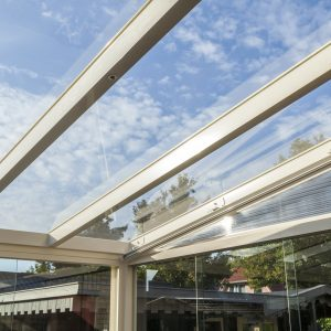 Alumaximal Terrassenüberdachung Glas
