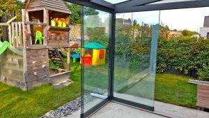 Terrassendach-Händler Glasschiebewände Montage